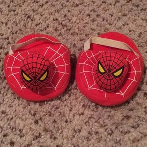 Build-a-bear Spider-Man slippers